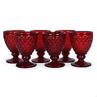 Набор красных бокалов для вина Toscana Maison, 6 шт