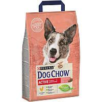 Корм Dog Chow Active 2.5 кг з куркою для активних собак