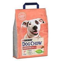 Сухий корм Dog Chow Sensitive 2.5 кг для дорослих собак з лососем