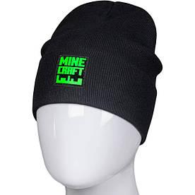 Трикотажная весенняя хлопковая шапка Fero с логотипом, черная