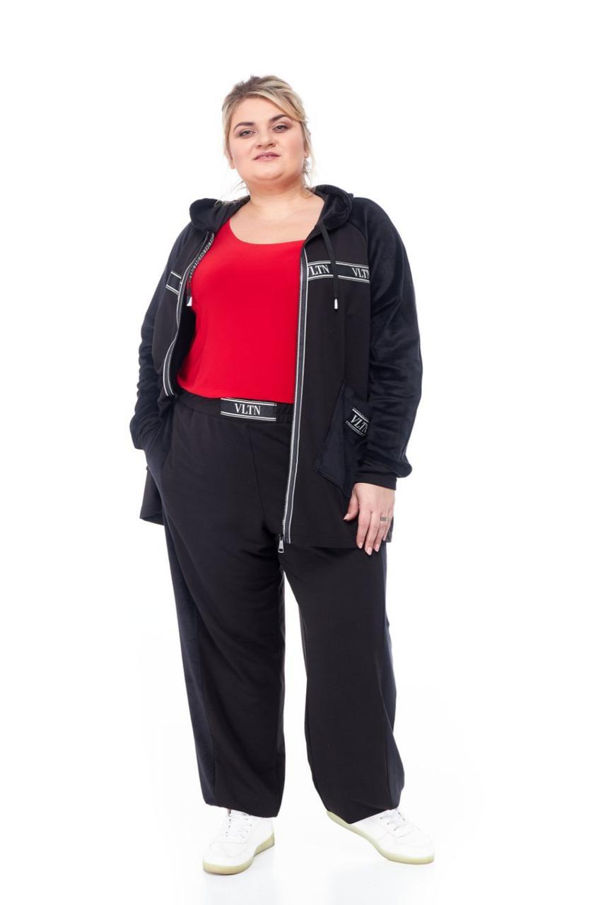 Спортивний костюм жіночий від 66 до 76 великі розміри