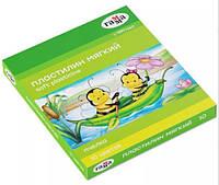 Пластилін восковий Бджілка 10 кольорів + стек