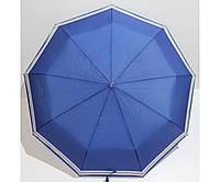 Зонт-полуавтомат женский складной от дождя Антиветер 3 сложения FLAGMAN, фото 1