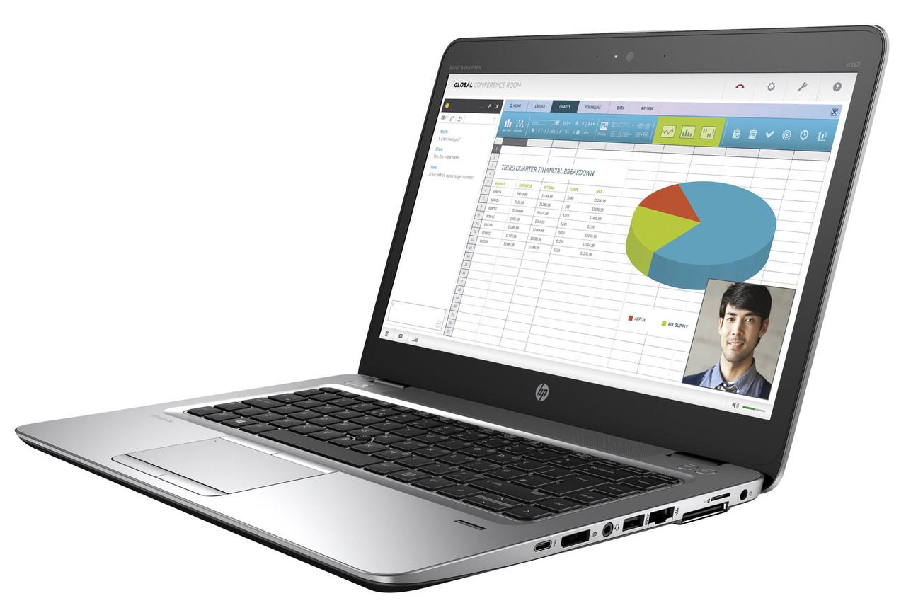 "Ноутбук БУ HP EliteBook MT42 14"" FHD A8-8600B 8Gb SSD128Gb"