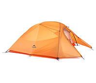 Туристическая Палатка Naturehike Cloud Up 3-210T Upgraded Orange
