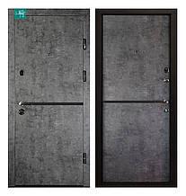 Двері вхідні МДФ/МДФ ПК-209 Элит мрамор темний/молд. Антр. 96 ліва