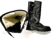 Сапоги Talan Кожаные Зимние на Овчине 40,41,42,43 с огнеупорной подошвой