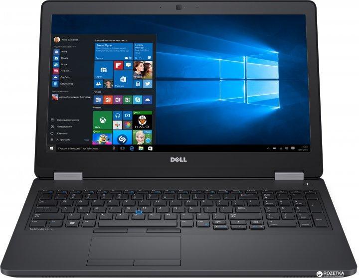 """Ноутбук БО Dell Latitude E5570 15.6"""" HD i5-6300U 12Gb SSD256Gb"""