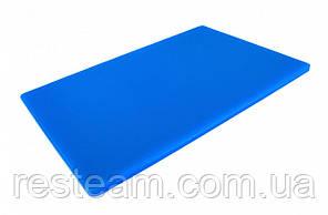 "Дошка двостороння LDPE, 600x400x13 мм, синя ""One Chef"" Normak"