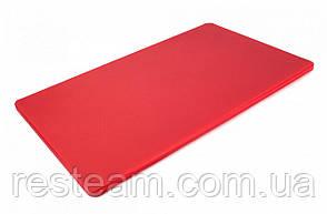 """Дошка двостороння LDPE, 500x300x12 мм, червона """"One Chef"""" Normak"""