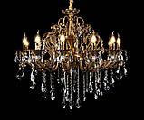 Люстра светильник в классическом стиле с хрустальными подвесками Splendid-Ray 30-3342-72, фото 2