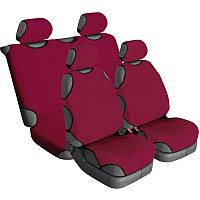 Чехлы майки для сидений комплект Beltex COTTON Гранат