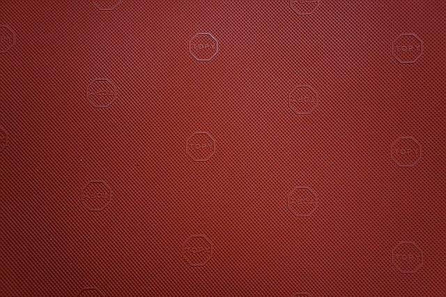 Резина подметочная TOPY   940*600 т.1,0 мм. цвет красный