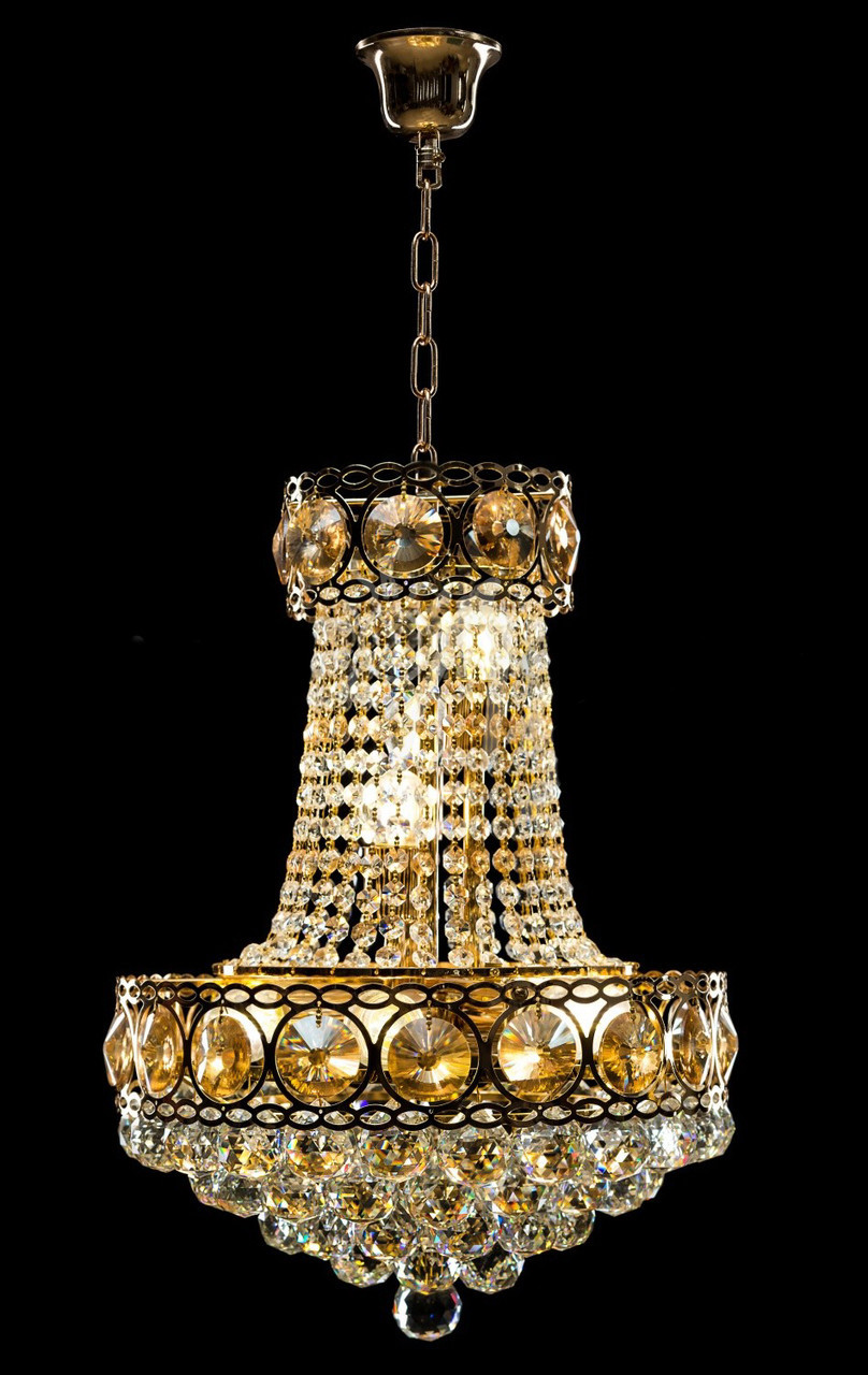 Люстрі і світильники, люстри, люстрі, люстри в класичному стилі, люстри з висульками, люстри кришталеві,