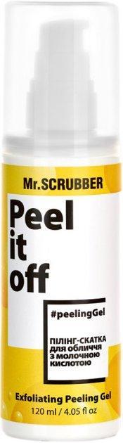 Пилинг скатка для лица Peel it off Mr.SCRUBBER 120 мл