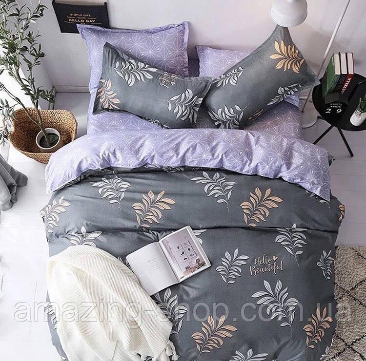 Комплект постельного белья Бязь Gold Размер 150*215 полуторный
