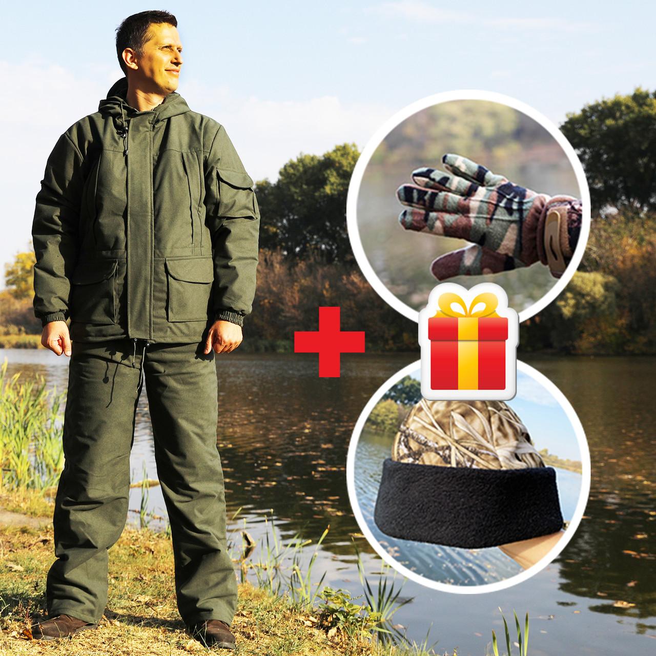 Костюм для рыбалки и охоты «Mavens Хант» Олива, размер 66 (031-0006)