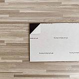 Самоклеюча вінілова плитка Сіро-бежева Матова СВП-008 152.4*914.4*1.5 мм, ціна за 1шт, замовлення від 15шт, фото 4