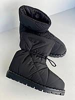 Теплые ботинки Prada (реплика), фото 1