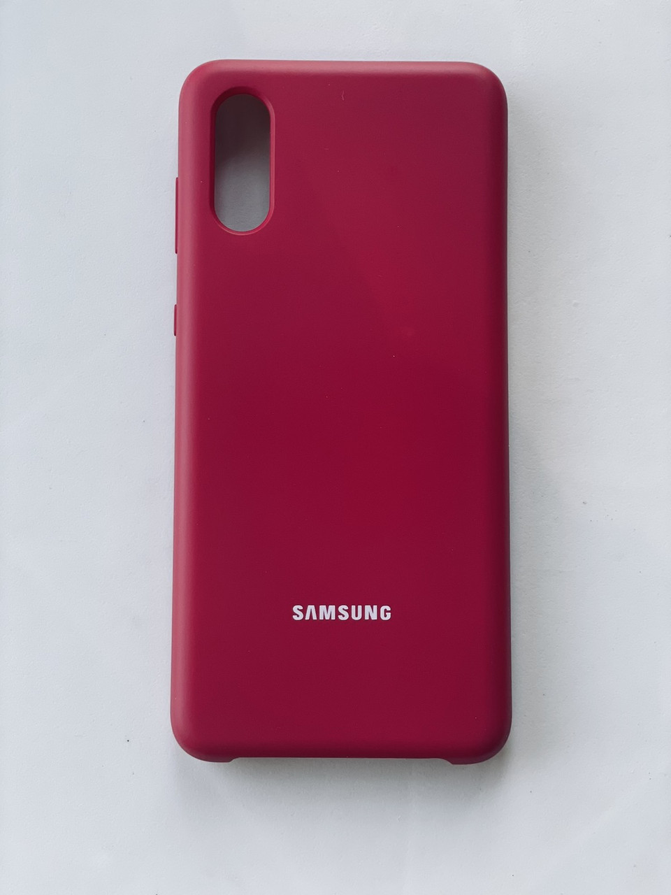 Чехол накладка  на Samsung А02 червона
