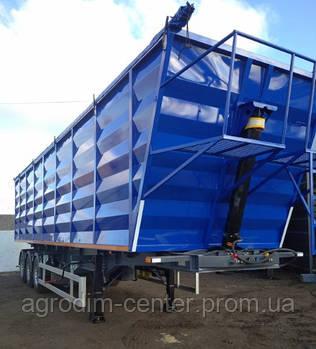 Полуприцеп-зерновоз со стальным кузовом DL-3360