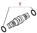 12001614 Гумовий ущільнювач(на кран гарячої води Odea, мала), OR 2012, d=2,9х1,78mm, фото 2