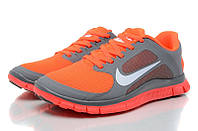 Nike Free Run 4.0 V3 серый/оранжевый