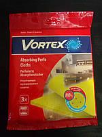 Салфетки для уборки из вискозы перфорированные ТМ Vortex