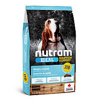 I18_NUTRAM Ideal Solution Support Weight Control 11.4 кг корм для собак схильних до ожиріння