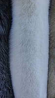 Шкура (мех) песец альбинос длина 105 см (Польша) опт и розница. Наборы на шубы