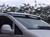 Спойлер козырек лобового стекла солнцезащитный Mercedes Viano 2004+ г.в. Мерседес Виано