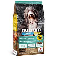 I20 Nutram Ideal Solution Support Sensitive Skin,Coat& Stomach Dog 2 кг корм для собак з проблемами шлунку