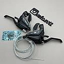 Моноблоки на велосипед shimano, манетки 3*7, фото 4