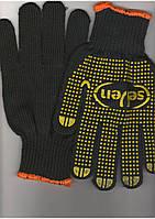 Перчатки с ПВХ точкой (толстые)