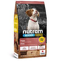 S2 Nutram Sound Balanced Wellness Natural Puppy Сухий корм для цуценят, 2.72 кг