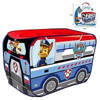 Дитячий ігровий намет будиночок-автобус Щенячий патруль 999-306 (розмір 114*73*73 см)