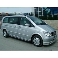 "Накладка на передний бампер губа""Brabus Style"" Mercedes Viano 2004+ г.в."