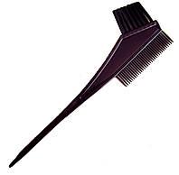 Кисть для покраски волос двухсторонняя