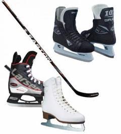 Ледовые коньки (хоккейные, фигурные, прогулочные)