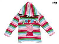 Флисовая кофта Peppa Pig для девочки., фото 1