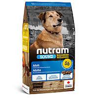 S6 Nutram Sound Balanced Wellness Adult Dog сухий корм для дорослих собак 2 кг