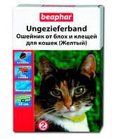 Beaphar (Беафар) Нашийник для кішок проти бліх 35см (жовтий)