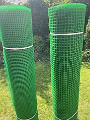 Сітка пластикова забірна щільна 1,5*30м (20*20мм) 48 грн мп