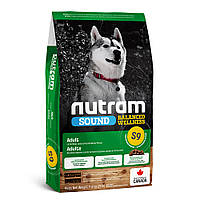 S9 Nutram Sound Balanced Wellness Lamb Adult Dog сухий корм для дорослих собак з ягням 11.4 кг