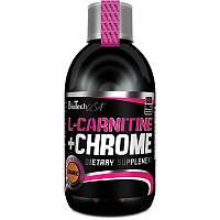 L-Carnitine+Chrome Liquid Concentrate BioTech, 500 мл