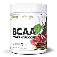 Аминокислоты - BCAA - Gold Labs BCAA Power Hardcore + Taurine / 300 g