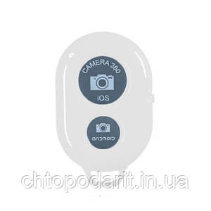 Пульт Bluetooth кнопка для селфи iphone и android белый Код 37-0002