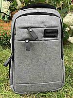 Рюкзак міський для ноутбука Edison 1030 Сірий ( код: IBR180S )