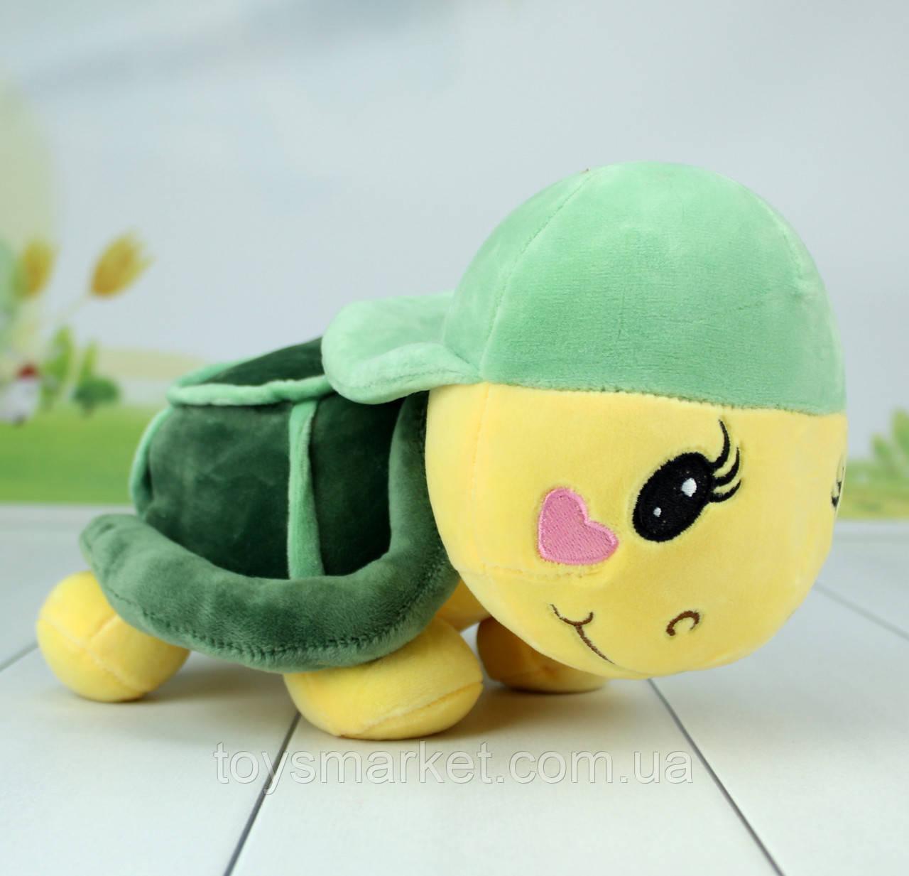 Мягкая игрушка Черепаха, плюшевая черепаха, 30 см.
