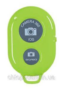 Пульт Bluetooth кнопка для селфи iphone и android салатовый Код 37-0004